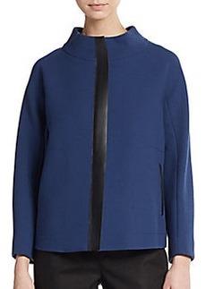 Lafayette 148 New York Parissa Wool & Leather Jacket