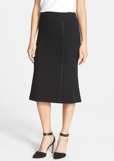 Lafayette 148 New York 'Patsy' Wool Crepe Skirt