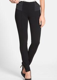 Lafayette 148 New York Pintuck Seam Punto Milano Skinny Pants