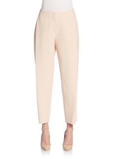 Lafayette 148 New York Pleated Slim-Leg Pants
