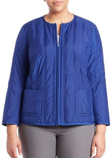Lafayette 148 New York, Plus Size Donelle Alpine Puffer Jacket