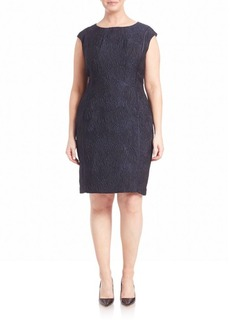 Lafayette 148 New York, Plus Size Joss Jacquard Dress