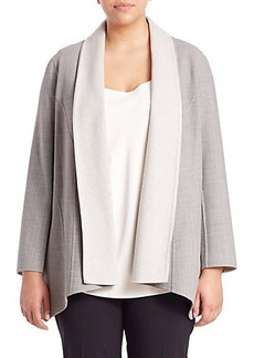 Lafayette 148 New York, Plus Size Zanita Reversible Jacket