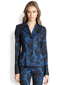 Lafayette 148 New York Polly Lily Print Jacket