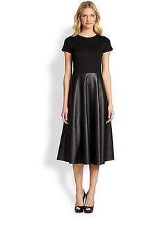 Lafayette 148 New York Ponte/NeoTech Mirna Dress