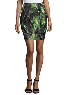 Lafayette 148 New York Printed Jacquard Pencil Skirt