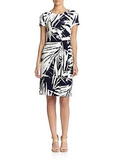 Lafayette 148 New York Printed Knit Dress