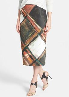 Lafayette 148 New York 'Priscilla - Expressionist' Skirt