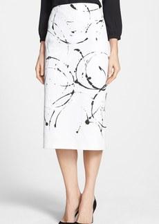 Lafayette 148 New York 'Priscilla' Faille Skirt