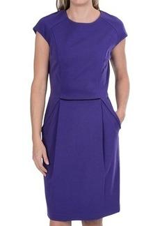 Lafayette 148 New York Punto Milano Dress - Short Sleeve (For Women)