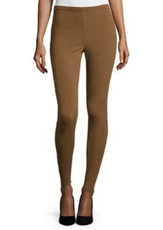 Lafayette 148 New York Punto Milano Leggings, Maple