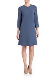 LAFAYETTE 148 NEW YORK Punto Milano Shift Dress