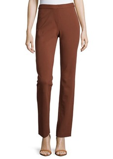 Lafayette 148 New York Punto Milano Straight-Leg Ponte Pants