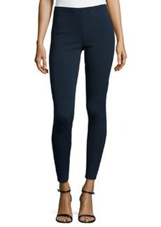 Lafayette 148 New York Punto Milano Stretch Leggings, Ink
