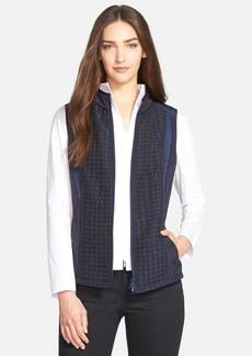 Lafayette 148 New York Quilted Detail Vest (Regular & Petite)