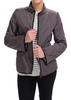 Lafayette 148 New York Quilted Zip-Front Jacket (For Women)