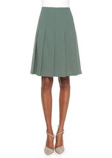 Lafayette 148 New York Rayden Pleated Wool Skirt  Rayden Pleated Wool Skirt