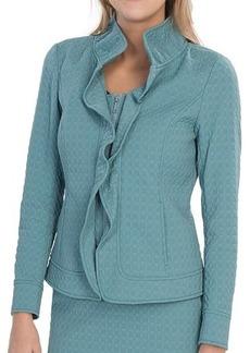 Lafayette 148 New York Regine Elite Octagon Jacket (For Women)
