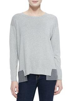 Lafayette 148 New York Relax-Layered Sweater