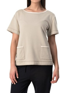 Lafayette 148 New York Relaxed Knit Shirt - Short Sleeve (For Women)