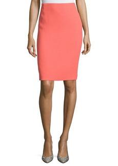 Lafayette 148 New York Revelin Crepe Wool Pencil Skirt