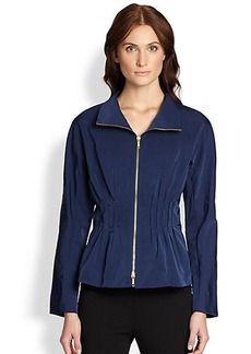 Lafayette 148 New York Rhona Pintucked Jacket