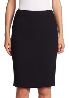 Lafayette 148 New York Riche Crepe Revelin Skirt