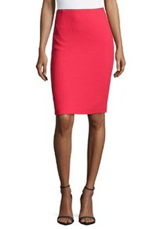 Lafayette 148 New York Riche Crepe Revelin Skirt, Spark