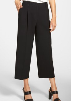 Lafayette 148 New York 'Rivington' Pleat Front Crop Pants