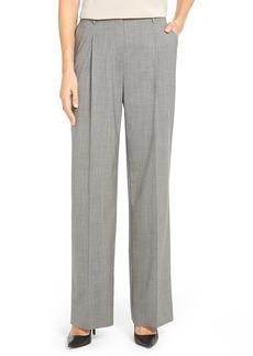 Lafayette 148 New York 'Rivington' Stretch Wool Pants
