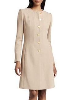 Lafayette 148 New York Roland Long Wool Crepe Jacket