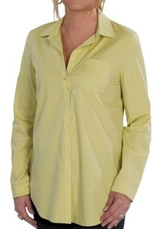 Lafayette 148 New York Roll Tab Blouse - Long Sleeve (For Women)