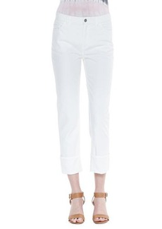 Lafayette 148 New York Rolled-Ankle Curvy Jeans