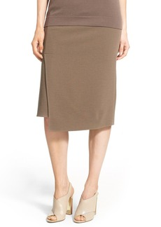 Lafayette 148 New York 'Sarah - Wave Double Cloth' Asymmetrical Skirt