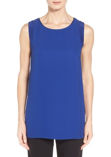 Lafayette 148 New York 'Sasha' Sleeveless Silk Blouse (Regular & Petite)