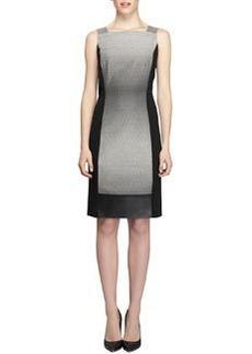 Lafayette 148 New York Saturine Colorblock Sheath Dress
