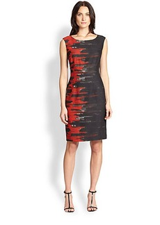 Lafayette 148 New York Savannah Flame Dress