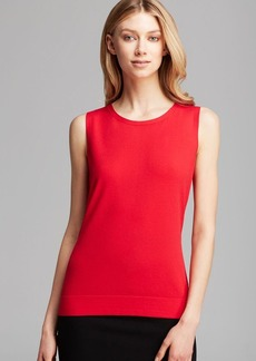 Lafayette 148 New York Scoop Neck Shell