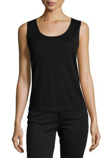 Lafayette 148 New York Scoop-Neck Wool Tank