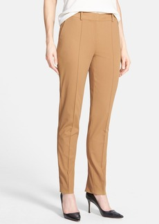 Lafayette 148 New York Seamed Back Slit Pants