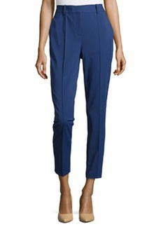 Lafayette 148 New York Seamed Pants with Back Slit, Luna