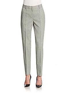 Lafayette 148 New York Seamed Slim-Leg Pants