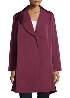 Lafayette 148 New York Shawl-Collar One-Button Coat