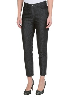 Lafayette 148 New York Shine Twill Denim Curvy Capris - Slim Leg (For Women)