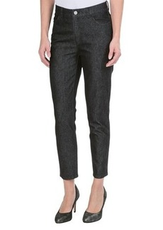 Lafayette 148 New York Shine Twill Denim Curvy Capris - Slim Leg (For Women)