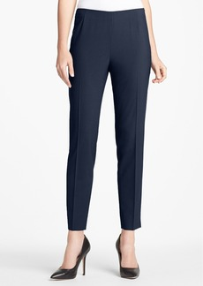 Lafayette 148 New York Side Zip Stretch Wool Pants