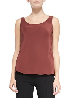 Lafayette 148 New York Silk Lined Tank Top, Date