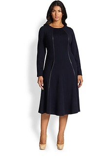 Lafayette 148 New York, Sizes 14-24 A-Line Dress