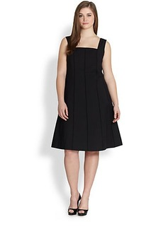 Lafayette 148 New York, Sizes 14-24 Adelaide A-Line Dress