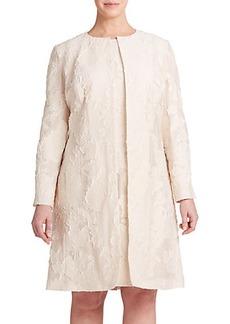 Lafayette 148 New York, Plus Size Aria Fil Coupé Jacket